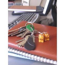 Porte-clé Yoshi Orange